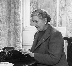Agatha Christie, with thanks from Encyclopaedia Briticanna