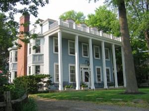 Caleb Clothier's Riverton Home c. 1851