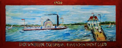 Bay Ruff Sidewheeler Columbia 1906 - 2006