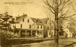 Cinnaminson Home for Convalescent Women, Riverton, NJ 1939