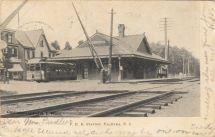 P.R.R. Station, Palmyra, N.J. c.1906
