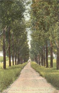 Popular Walk - Cinnaminson Avenue - Palmyra, N.J. c.1909