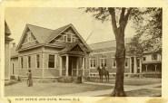Post Office & Bank, Riverton, NJ