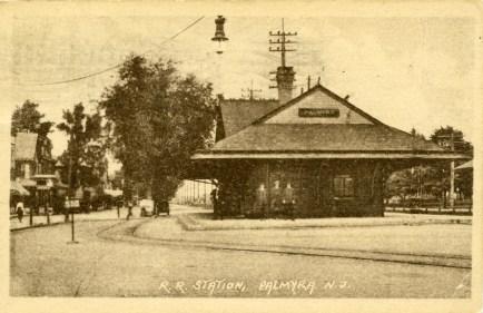 RR Station, Palmyra, NJ 1923