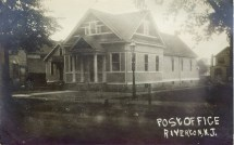 Riverton Post Office RPPC