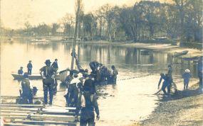 Shad Fishing, Palmyra, N.J.