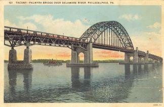 Tacony - Palmyra Bridge Over Delaware River, Philadelphia, PA