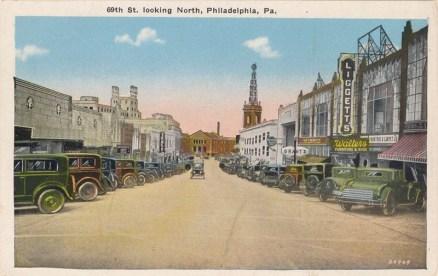 69th Street, Looking North, Philadelphia, PA