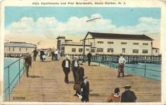 Abla Apartments and Pier, Boardwalk, Stone Harbor, NJ