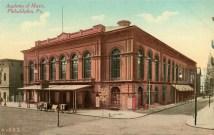 Academy of Music, Philadelphia, Pa. 1901
