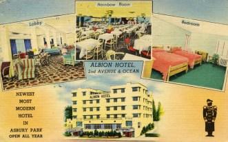 Albion Hotel, 2nd Avenue & Ocean, Asbury Park, NJ