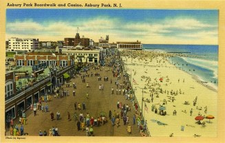Asbury Park Boardwalk and Casino, Asbury Park, NJ