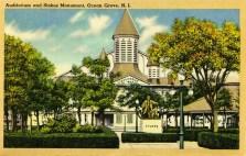 Auditorium and Stokes Monument, Ocean Grove, NJ