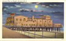 Avalon Pier at Night, Avalon, NJ