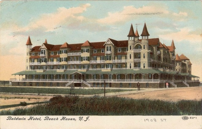 Baldwin Hotel, Beach Haven, NJ 1908 [800×512] – Historical Society