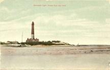 Barnegat Light House from the Inlet