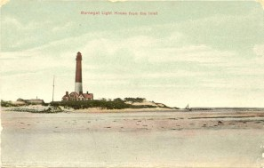 Barnegat Light House from the Inlet
