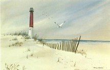 Barnegat Light by Nancy Ghook