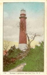 Barnegat Lighthouse Near Surf City, NJ