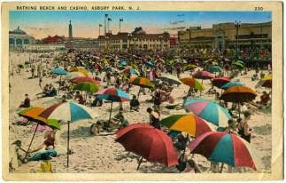 Bathing Beach and Casino, Asbury Park, NJ