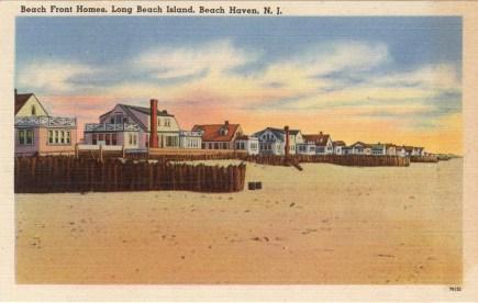 Beach Front Homes, Long Beach Island, Beach Haven, NJ