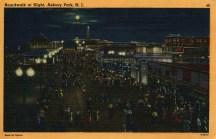 Boardwalk at Night, Asbury Park, NJ