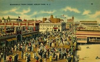 Boardwalk from Casino, Asbury Park, NJ