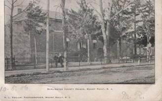 Burlington County Prison, Mt Holly, NJ 1906