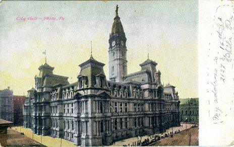 City Hall, Philadelphia, PA 1909