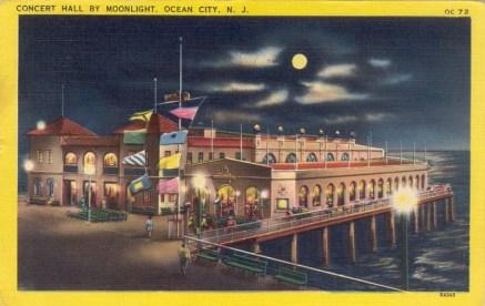 Concert Hall by Moonlight, Ocean City, NJ 1955