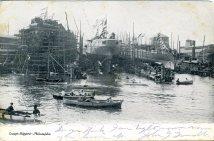 Cramp's Shipyard, Philadelphia, PA 1906