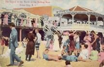 Crowd on the Beach at the Bathing Hour, Ocean City, NJ 1911