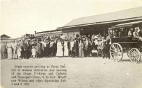 Dedication of Ocean Parkway and Churches 1911, Stone Harbor, NJ
