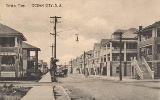 Delancy Place, Ocean City, NJ 1915