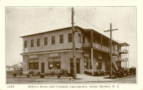 Diller's Store and Colonial Apts., Stone Harbor, NJ