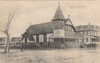 Episcopal Church, Beach Haven, NJ 1920