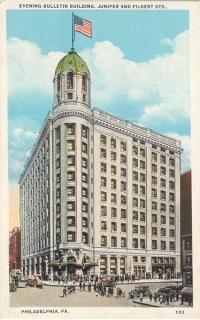 Evening Bulletin Building, Juniper and Filbert Sts., Philadelphia, PA