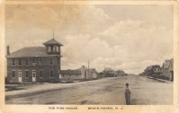 Fire House, Beach Haven, NJ 1919