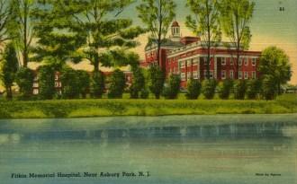 Fitkin Memorial Hospital, Near Asbury Park, NJ