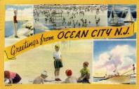 Greetings from Ocean City, NJ 1953