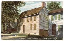Home of Stephen Girard from 1776-1779, Mount Holly, NJ