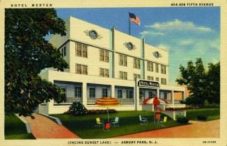 Hotel Merten, 5th Ave., Asbury Park, NJ