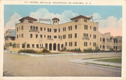 Hotel Seville, Wildwood-by-the-Sea, NJ 1929