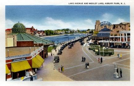 Lake Avenue and Wesley Lake, Asbury Park, NJ