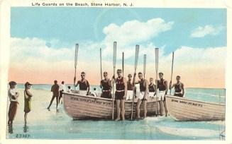 Life Guards on the Beach, Stone Harbor, NJ