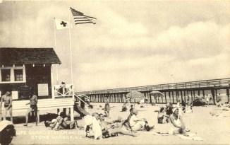 Lifeguard Station and Beach, Stone Harbor, NJ