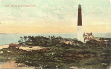 Light House at Barnegat Inlet