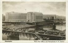 Main Post Office and Penn. R.R. Station, Philadelphia, PA
