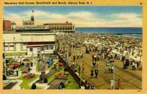 Miniature Golf Course, Boardwalk and Beach, Asbury Park, NJ