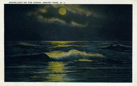 Moonlight on the Ocean, Asbury Park, NJ